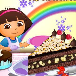 เกมส์ทำเค้ก เกมส์ทำเค้ก Dora Yummy Torte
