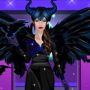 เกมส์แต่งตัว เกมส์แต่งตัว Maleficent Real Makeup