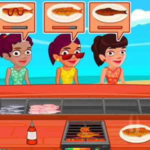 เกมส์ทำอาหาร ริมทะเล