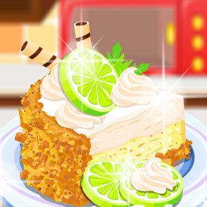 เกมส์ทำเค้ก เกมส์ทำเค้ก Homemade Lime Pie