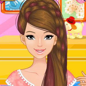 เกมส์แต่งตัว เกมส์แต่งตัว Fun Spring Hairstyles
