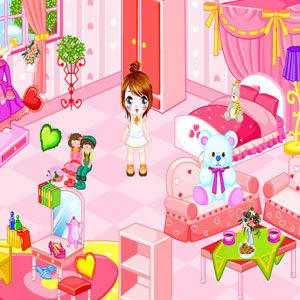 เกมส์แต่งห้องนอน Little Bedroom Makeover