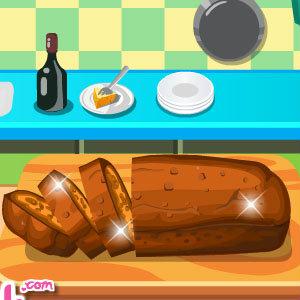 เกมส์เสิร์ฟอาหาร เกมส์ทำเค้กกล้วยหอม