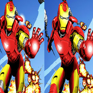 เกมส์จับผิดภาพ  Avengers Spot Difference