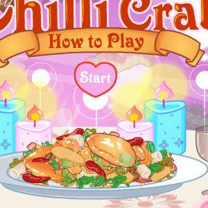 เกมส์ทำอาหาร เกมส์ทำอาหาร Chilli Crab