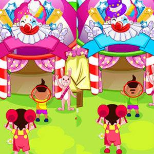 เกมส์จับผิด เกมส์จับผิดภาพ Spot the Differences Circus