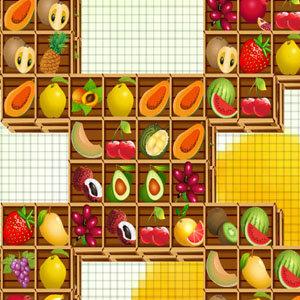 เกมส์จับคู่เกมส์จับคู่ Fruits Mahjong