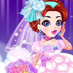 เกมส์แต่งตัว เกมส์แต่งตัวเจ้าหญิง แต่งงาน