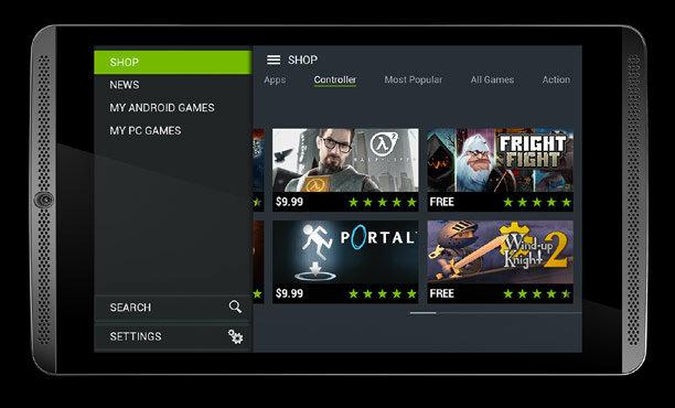 NVIDIA SHIELD Tablet แท็บเล็ตเพื่อการเล่นเกม