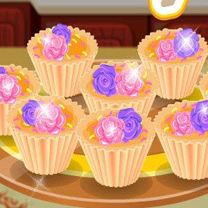 เกมส์ทำเค้ก ดอกไม้แสนอร่อย