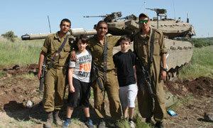 พ่อใจเด็ด พาลูกบ้าเกม CoD ไปดูสงครามจริงๆที่อิสราเอล