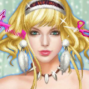 เกมส์แต่งตัว เกมส์ทำผมเจ้าหญิง Taylor Swift Fantasy Hairstyle