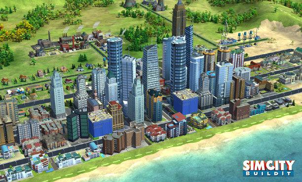 SimCity Build It มาสร้างเมืองในมือถือกันดีกว่า