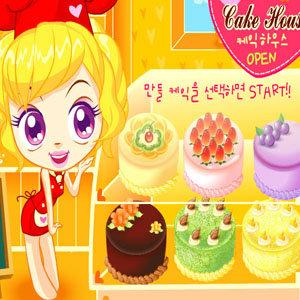 เกมส์ทำเค้กผลไม้ สไตล์สาวญี่ปุ่น