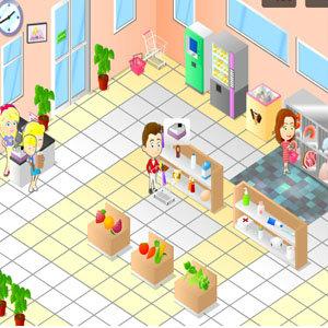 เกมส์เปิดร้านขายของชำ