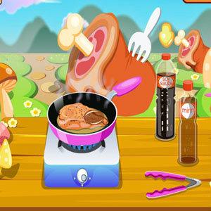 เกมส์ทำอาหาร เกมส์ทำไก่เทอริยากิ