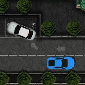 เกมส์รถแข่งเกมส์ฝึกจอดรถหรู