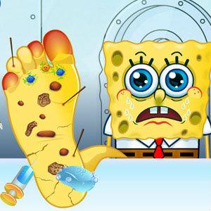 เกมส์อื่นๆ เกมส์คุณหมอรักษาเท้าเจ้าสป็องบ็อบ