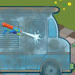 เกมส์ล้างรถไอศกรีม