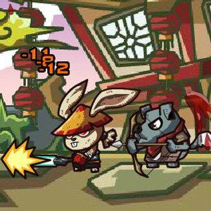 เกมส์ต่อสู้ เกมส์กระต่ายกังฟู
