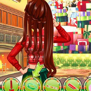 เกมส์ เกมส์ทำผมวันคริสมาสต์