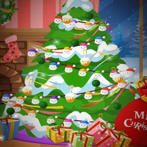 เกมส์แต่งตัว เกมส์แต่งต้นไม้ต้อนรับวันคริสมาสต์