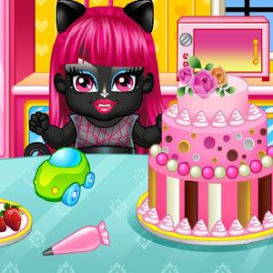 เกมส์แต่งตัว เกมส์ทำเค้กสัตว์ประหลาด