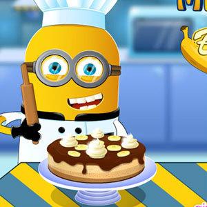 เกมส์เสิร์ฟอาหาร เกมส์จอมซนทำเค้กกล้วยหอม
