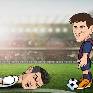 เกมส์ เกมส์ฟุตบอล Ronaldo Messi Duel