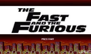 เมื่อ Fast and the Furious 7 กลายเป็นภาพเกม 8 bit สุดแนว