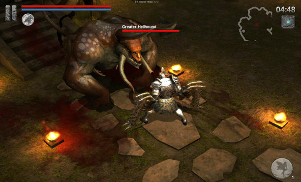 Ire-Blood Memory เกมมือถือสไตล์ Dark Soul ที่คุณต้องชอบ