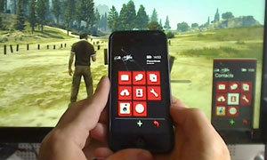 สุดยอด! ใช้มือถือใน GTA 5 ด้วย iPhone ของจริง