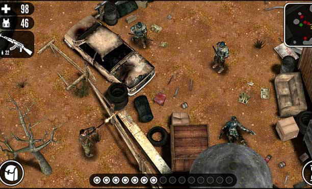 Hardboiled เกม RPG สไตล์ Fallout ในมือถือ