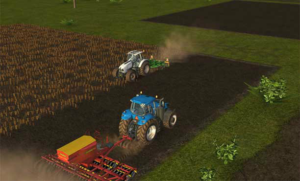 Farming Simulator 16 เกมจำลองการทำฟาร์มแบบสมจริงในมือถือ