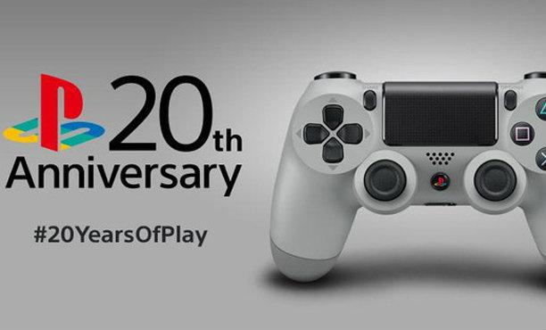 ขออีกรอบ! โซนี่ทำจอยและหูฟังชุดพิเศษ ฉลอง 20 ปี PlayStation