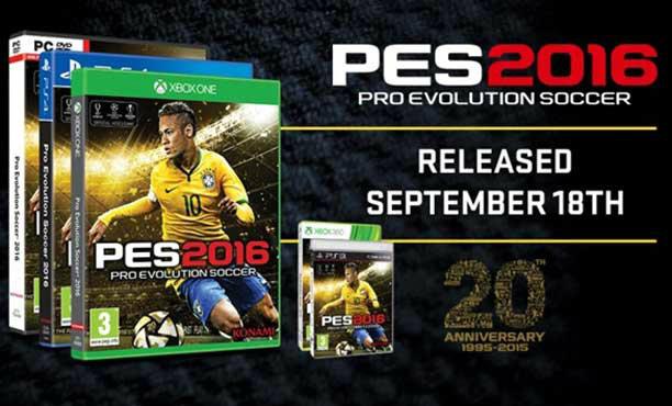 Pro Evolution Soccer 2016 เผยสเปคสำหรับเครื่อง PC