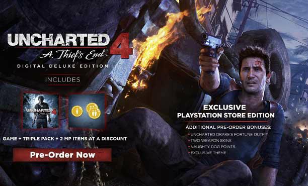 Uncharted 4: A Thief's End เกมที่ชาว PS4 รอคอย กำหนดคลอดแล้ว