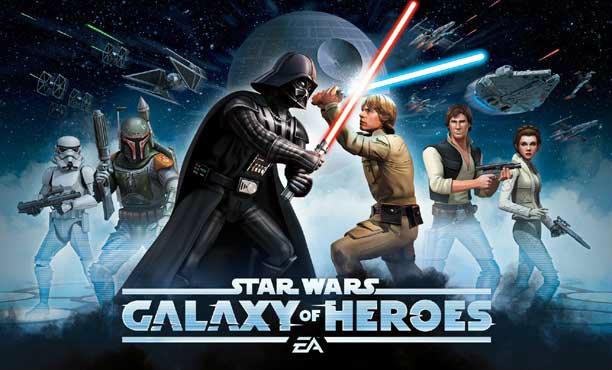 Star Wars: Galaxy of Heroes เกมสตาร์วอร์สมือถือแนว RPG จาก EA