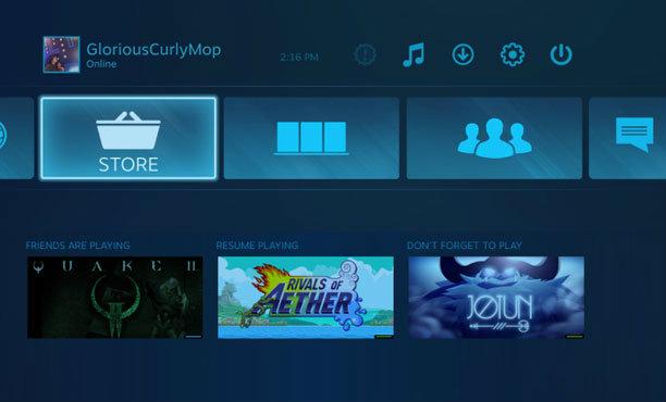 เตรียมพร้อมรับ Steam Machine! Valve ปรับโฉม Big Picture Mode ใหม่