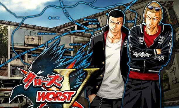 Crows x Worst V เกมมือถือจากการ์ตูนอีกาภาคใหม่ มาในแนว RPG