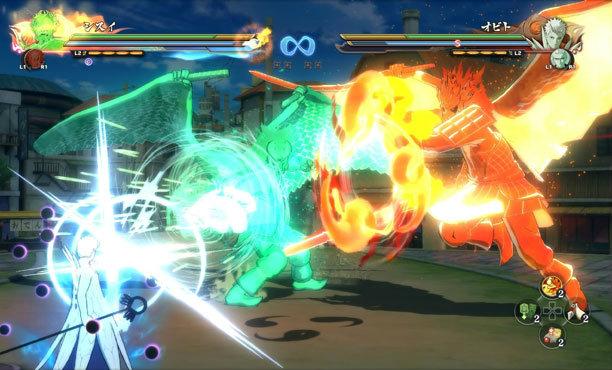 กำเนิดซูซาโนะโอะร่างสมบูรณ์ ของอิทาจิกับชิซุย ในเกม Naruto Shippuden 4