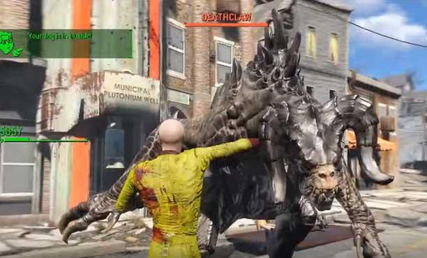 เมื่อไซตามะ ตะลุย wasteland ในเกม Fallout 4