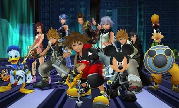 วีดีโอตัวอย่างใหม่ของ  Kingdom Hearts HD 2.8 และ Kingdom Hearts III