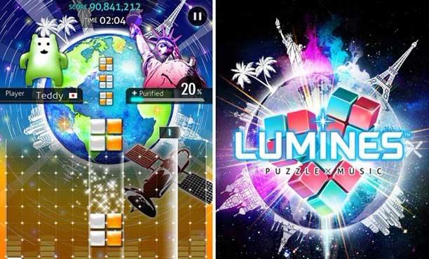 Lumines เกมต่อบล็อคผสานเสียงเพลงสมัย PSP มีภาคใหม่ในมือถือ