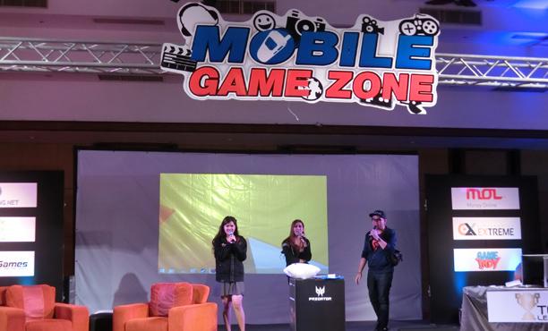 สนุกเกมพาชมบรรยากาศ Mobile Game Zone 2016
