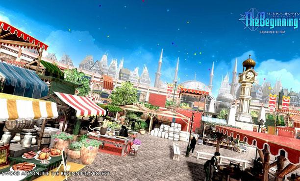 Sword Art Online: The Beginning ตัวอย่างภาพชุดแรกเกมออนไลน์แห่งอนาคต