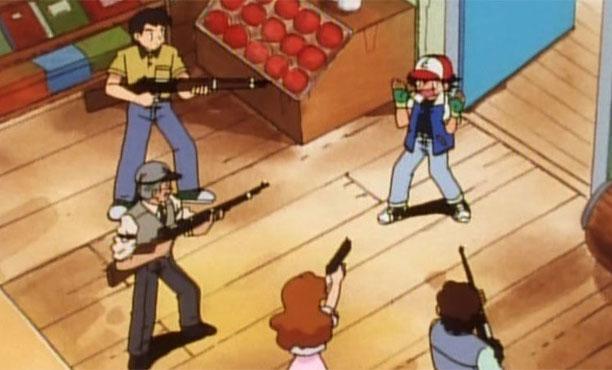 สองวัยรุ่นจับโปเกม่อนหน้าบ้านคน เจอเจ้าบ้านเอาปืนไล่ยิง