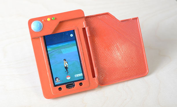 Pokédex นวัตกรรมพาวเวอร์แบงค์เพื่อ Pokemon GO