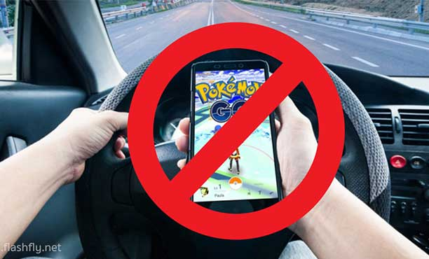 ตำรวจเอาจริง!! จับผู้เล่น Pokémon GO ขณะขับขี่