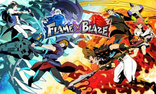 FLAME x BLAZE เกม MOBA มือถือจาก Square Enix